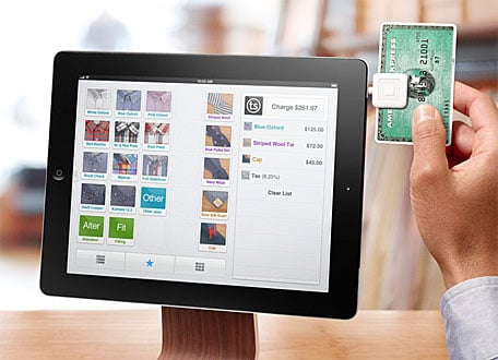 Square turns your iPad into a cash register