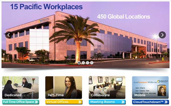 Pacific Workplaces Website