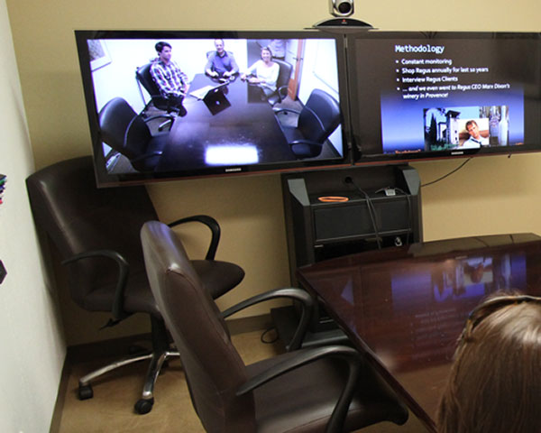 Pacific Workplaces HD Video Conference
