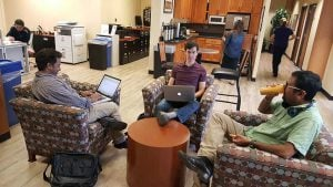 Pacific Workplaces Sunnyvale Coworking Members Comfy Coworking