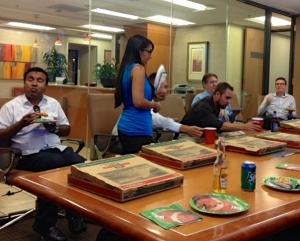 San Jose Pizza Party