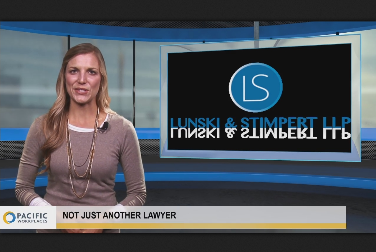 Not just another lawyer: Lunski & Stimpert, Morrison & Foerster and Taggart Law Offices