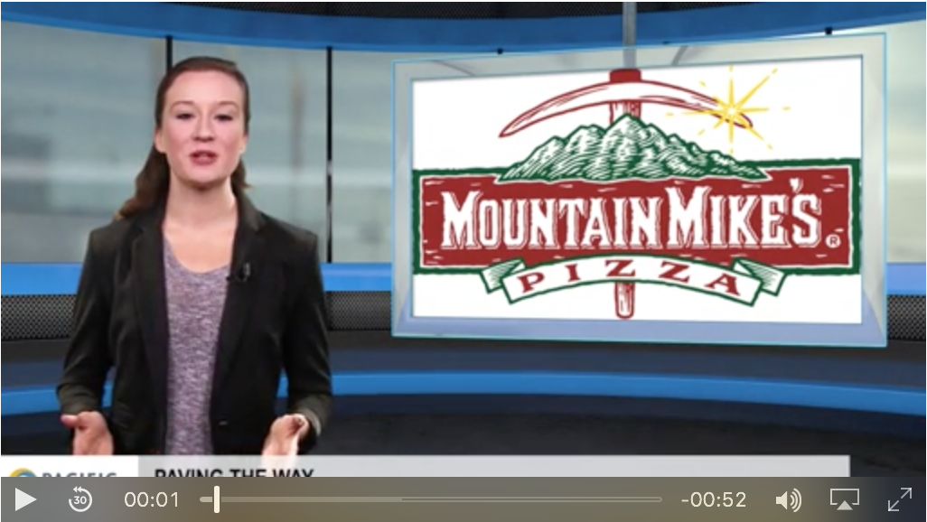 Paving the way: Mountain Mike's Pizza, A1 Express Delivery Service and Polar Service Centers