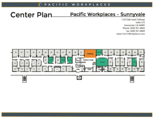Pacific Workplaces Sunnyvale Floor Plan