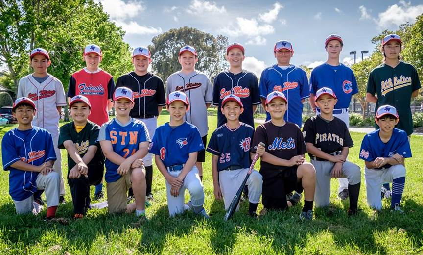 2017 San Mateo All-Star Goodwill Ambassador Little League Team