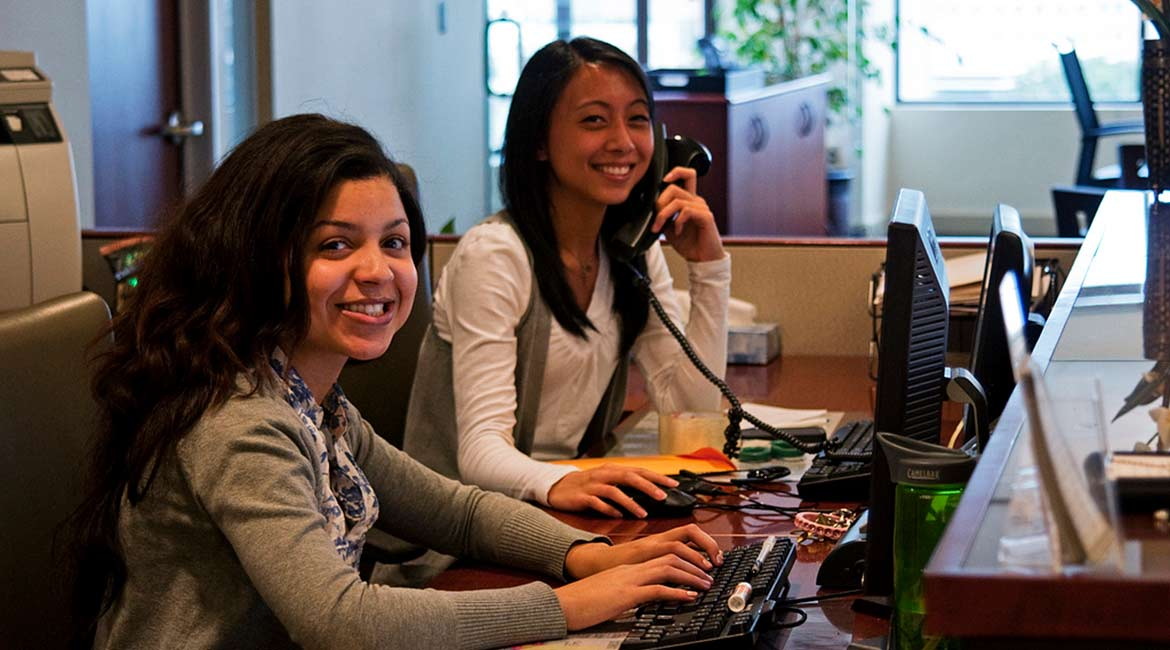 Pacific Workplaces Sacramento Capitol Front Desk Staff