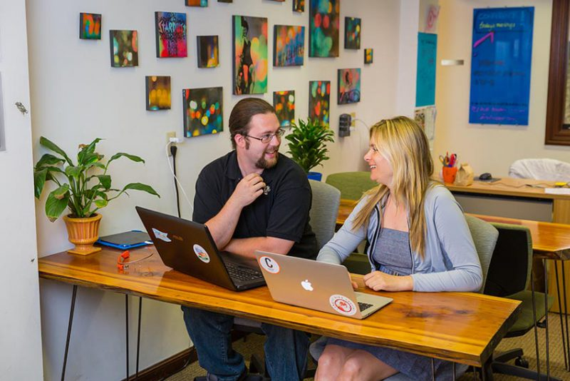 NextSpace San Jose Second Street Coworking Space Section