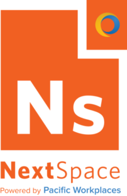 NextSpace powered by Pacific Workplaces logo