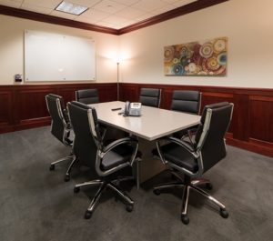 Pacific Workplaces Reno Range Conference Room
