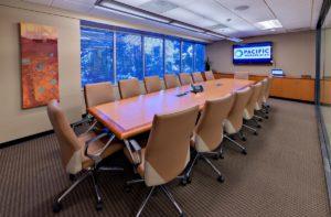 Pacific Workplaces San Jose Superior Boardroom