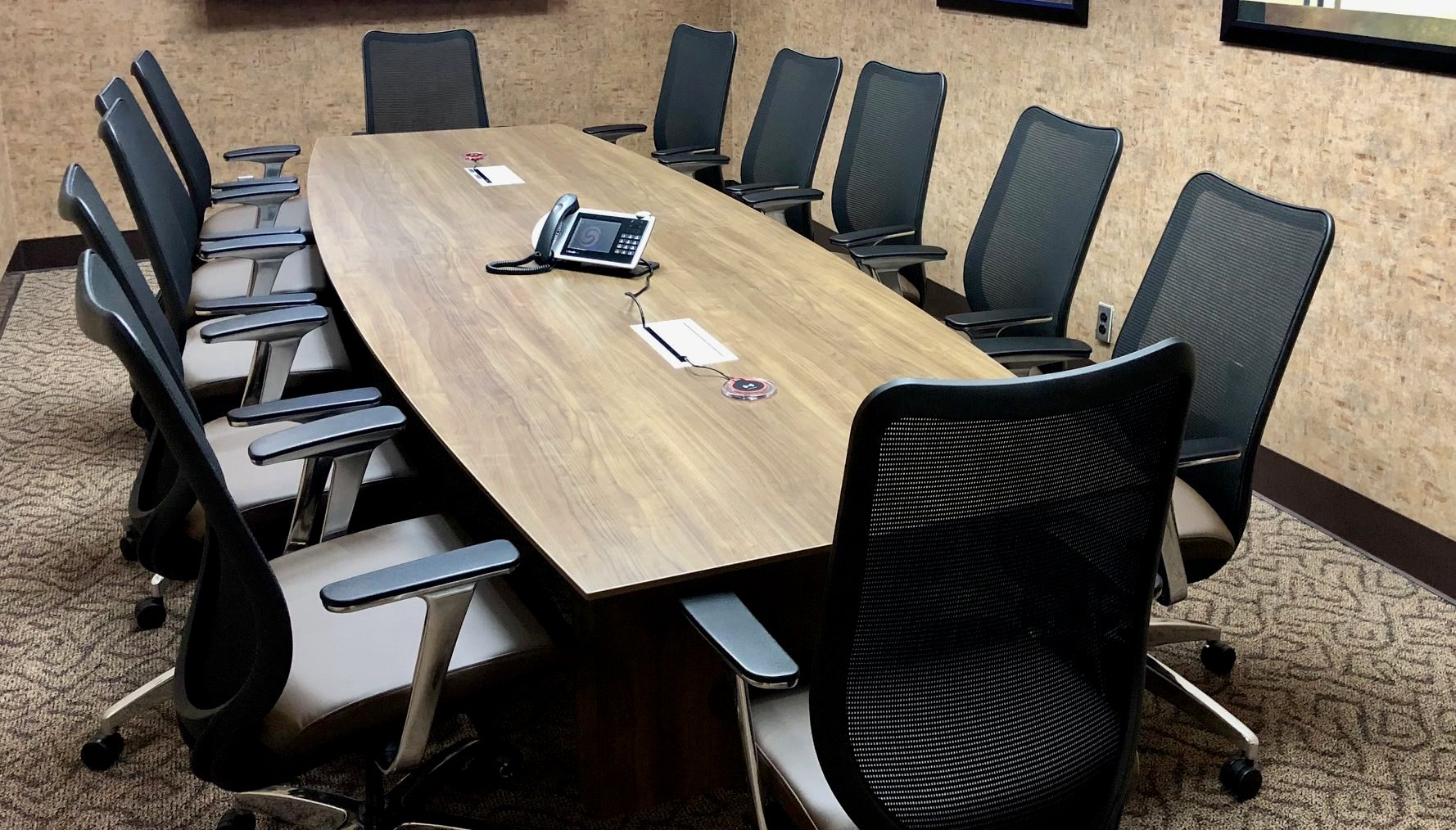 Pacific Workplaces Cupertino Empire Boardroom