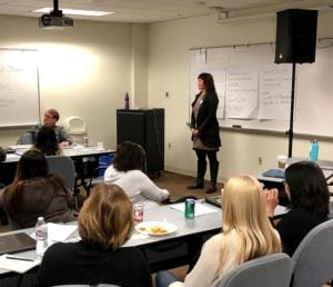 Pacific Workplaces Training Session with Iris Kavanagh