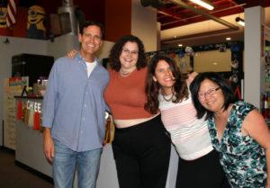 NextSpace Coworking Santa Cruz 10th Anniversary Keith Warner-Jennifer Hamilton-Maya Delano-Julie Kodama