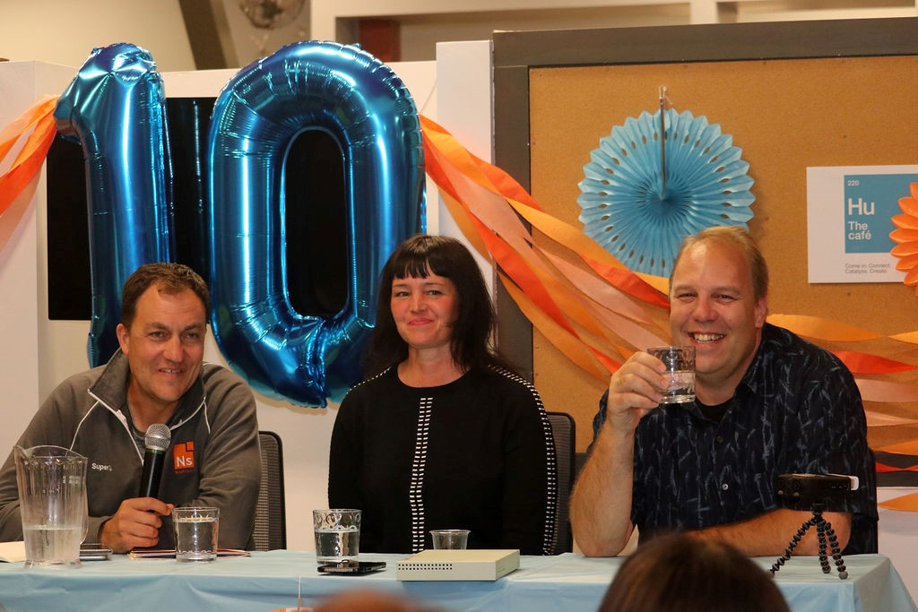 NextSpace Coworking Santa Cruz 10th Anniversary Panel