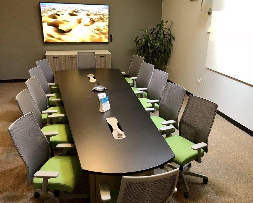 NextSpace Coworking Santa Cruz Boardroom