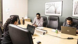 Pacific Workplaces Sacramento Greenhaven Productive Boardroom