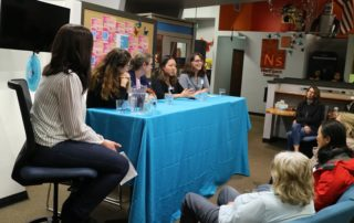 NextSpace Coworking Santa Cruz Women in Tech Event Panel of 5 Speakers