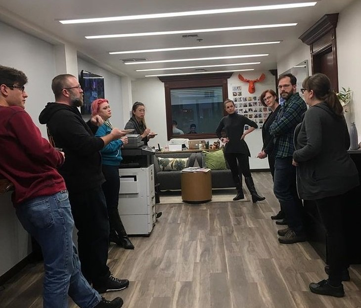 Nextspace Coworking San Jose Member Happy Hours and Path Partners Event