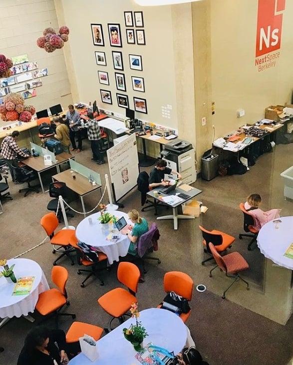 NextSpace Effect in Effect Members at NextSpace Coworking Berkeley