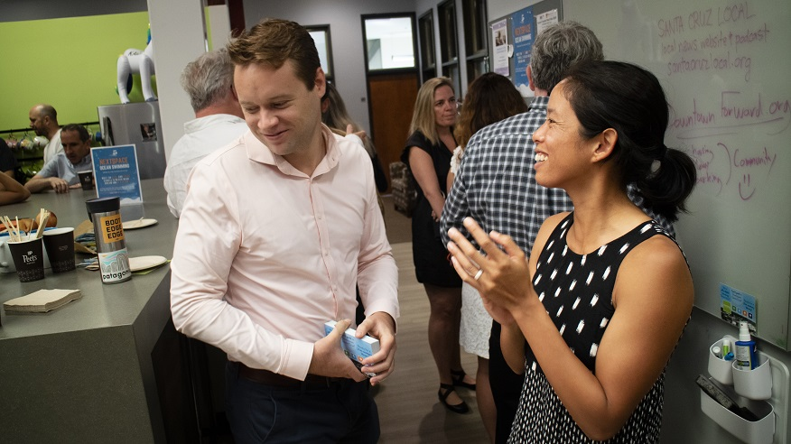 NextSpace Coworking Santa Cruz | Member Events | Spotlight Breakfast Networking