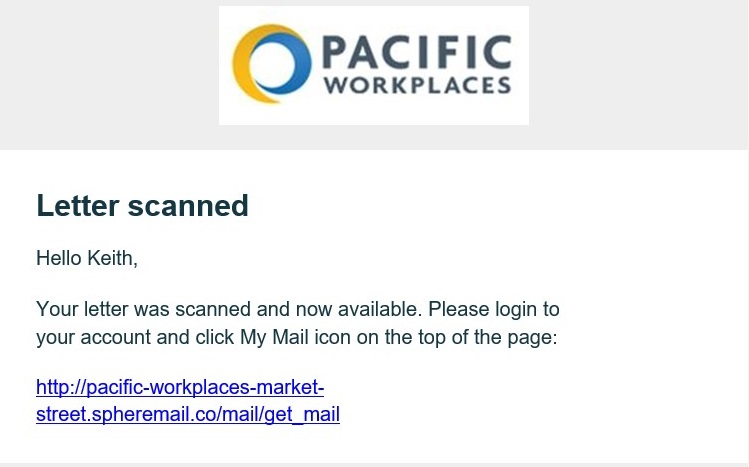 Legal Virtual Offices Digital Mailbox Services | Pacific Workplaces