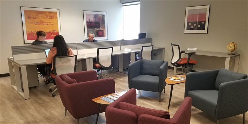 Roseville Coworking Space and Suburban Coworking