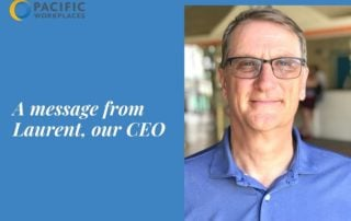 Covid-19 Message to Members from CEO | Pacific Workplaces