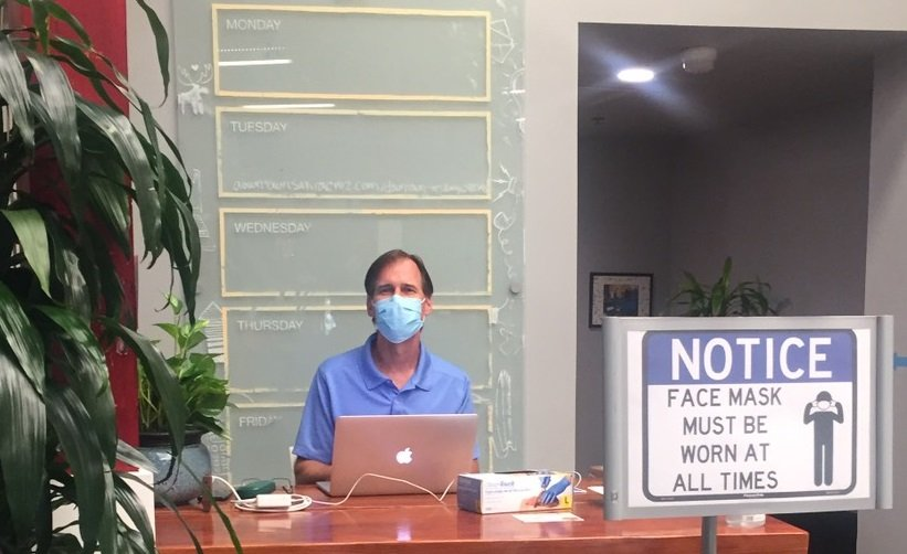 Healthy Coworking Space Face Masks | Pacific Workplaces