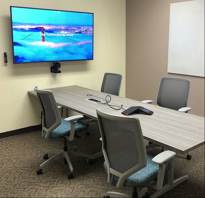 Cupertino Zoom Rooms Enterprise Video Conferencing | Pacific Workplaces