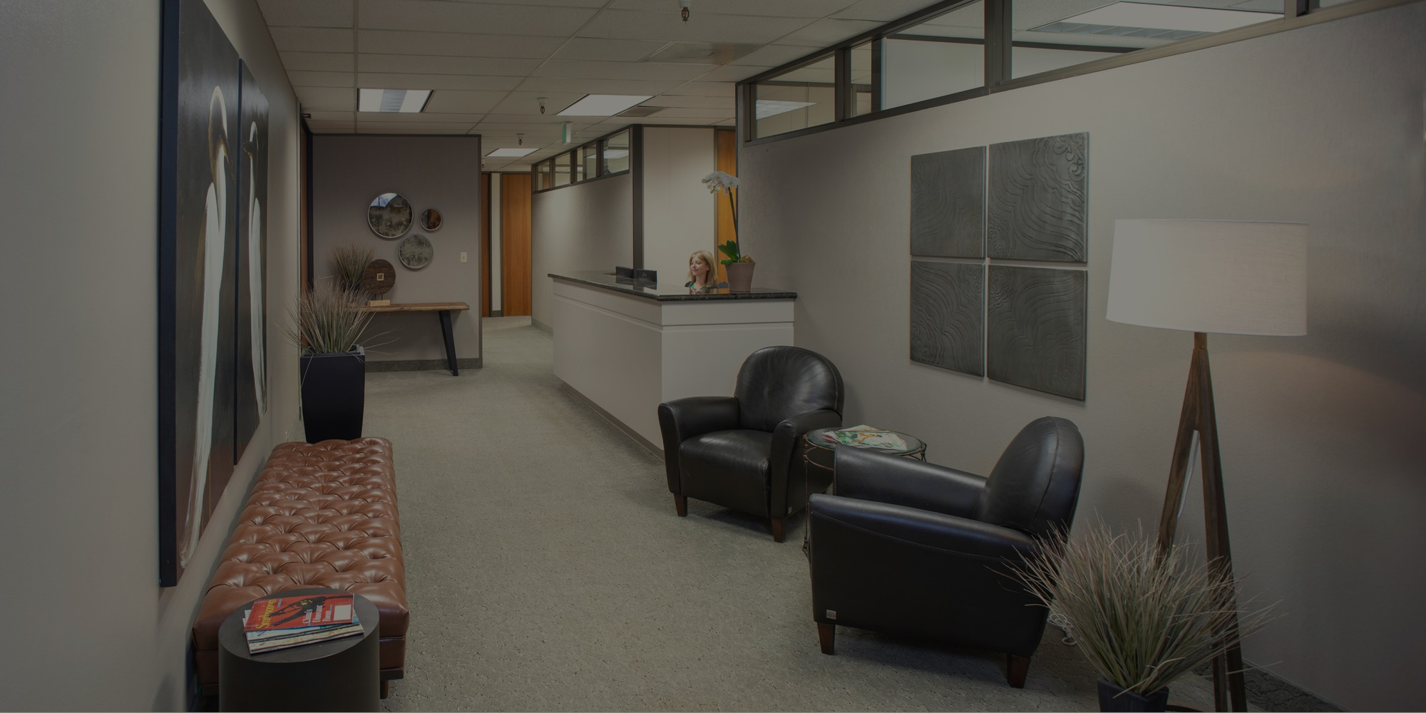 Marin Flexible Office Space Lobby | Pacific Workplaces