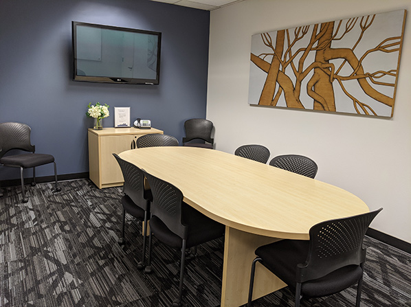 Pacific Workplaces Oakland Lakeshore Conference Room
